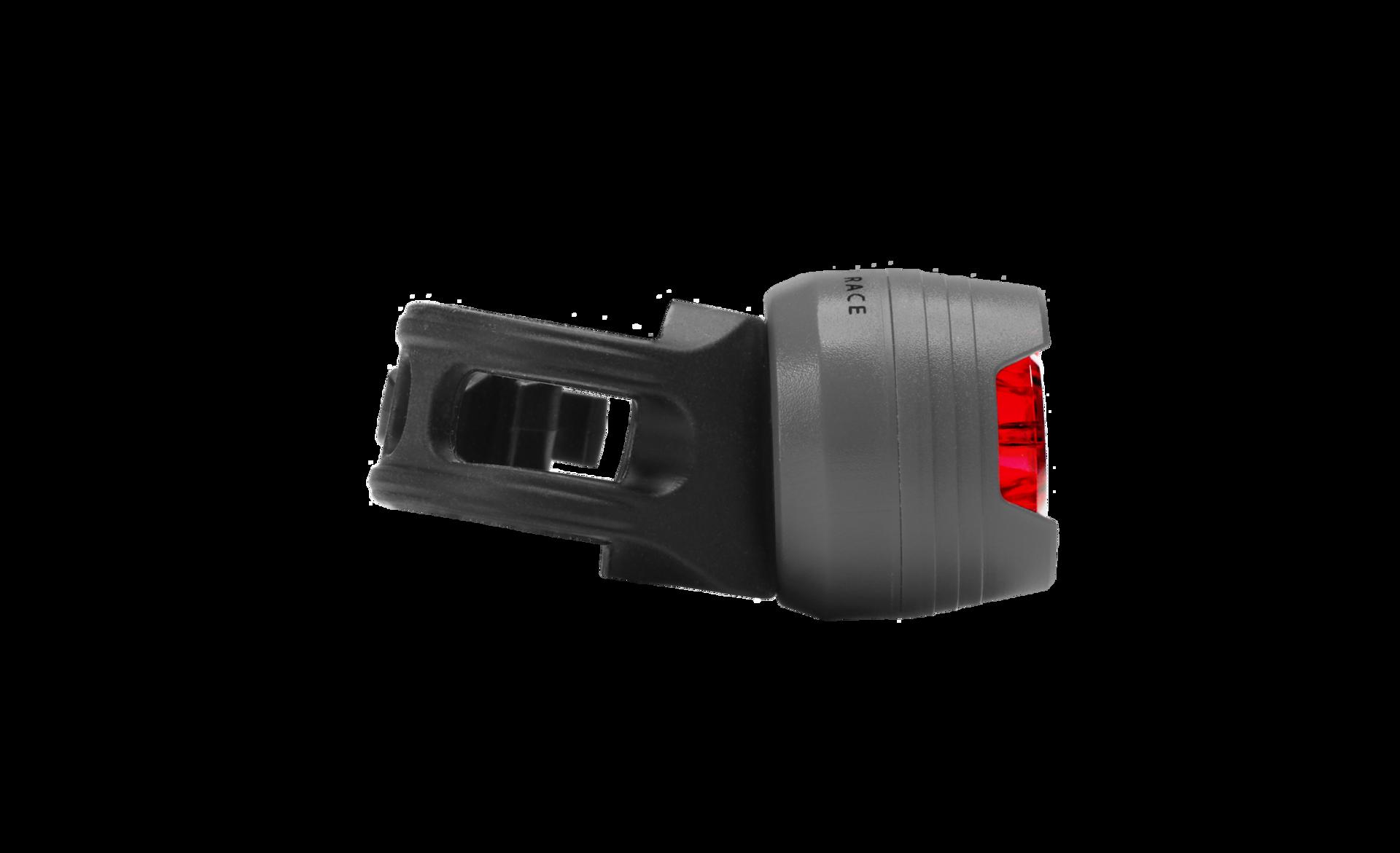 Cube RFR Diamond HQP Safety Lamp red LED red | Gode tilbud
